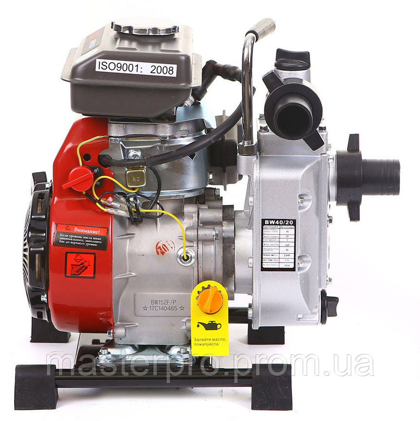 Мотопомпа бензиновая Bulat BW40/20