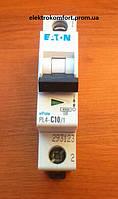 Автоматический выключатель 1 полюс 10А Eaton серия PL4