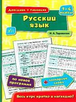 Довідник у таблицях. Русский язык 1-4 классы Ула