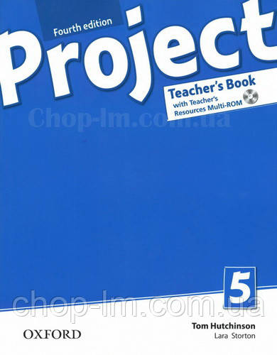 Книга для учителя Project Fourth Edition 5 Teacher's Book with Teacher's Resources MultiROM and Online Practic