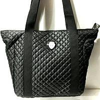 Стеганные сумки оптом из плотной ткани,водонепроницаемая (черный)33*33