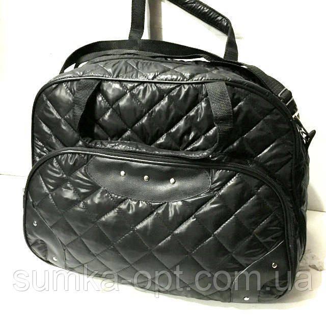Стеганные сумки оптом из плотной ткани,водонепроницаемая (черный)28*42