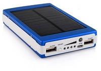 Портативное зарядное Power Bank Solar 45000 mAh на солнечной батареи, фото 1