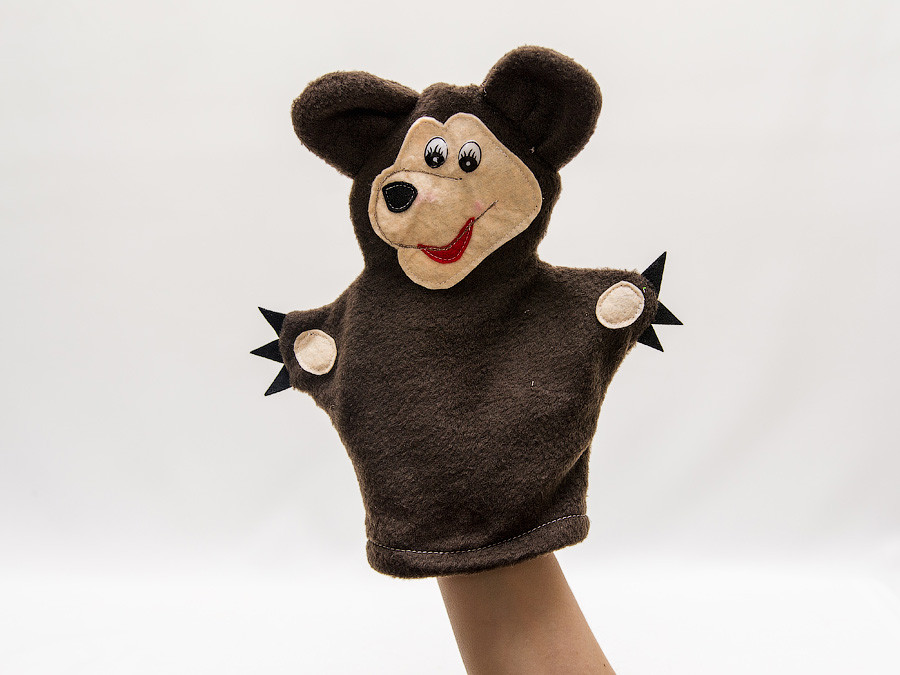 Кукла-перчатка Vikamade Медведь..