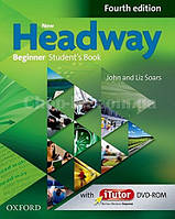 New Headway Beginner Fourth Edition Student's Book and iTutor Pack (английский учебник с DVD диском, 4-е изд)