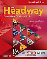 New Headway Elementary Fourth Edition Student's Book and iTutor Pack (английский учебник с диском 4-е издание)