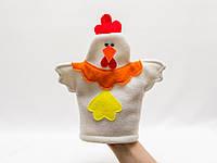 Кукла -перчатка Курочка Ряба.