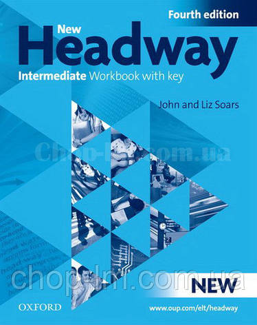 New Headway Intermediat Fourth Edition Workbook + iChecker with Key (тетрадь с диском и ключами, 4-е издание), фото 2