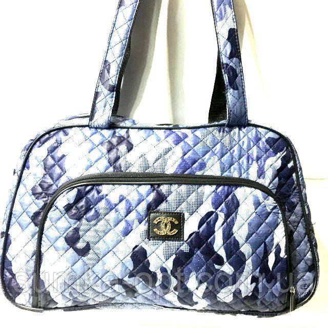 Стеганные сумки оптом из плотной ткани,водонепроницаемая (принт)25*42