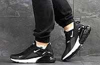 Мужские кроссовки  Nike Air Max 270   найк-черные - Текстиль,пятка на силиконовой подушке ,Индонезия, р:41-46, фото 1