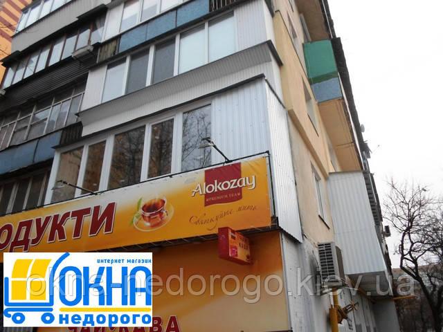 Наружная обшивка балконов в Киеве