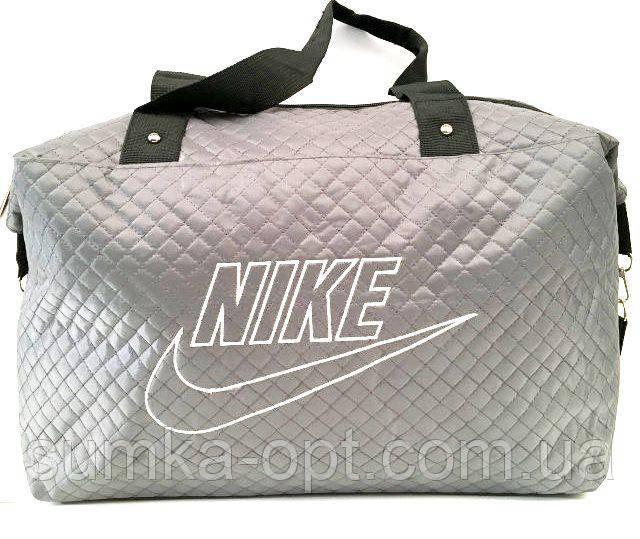 Стеганные сумки оптом из плотной ткани,водонепроницаемая (серый)30*39