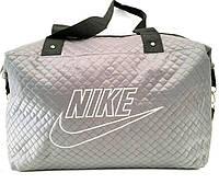 Стеганные сумки оптом из плотной ткани,водонепроницаемая (серый)30*39, фото 1