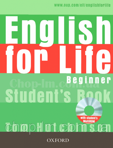 English for Life Beginner Student's Book with MultiROM / Учебник с диском