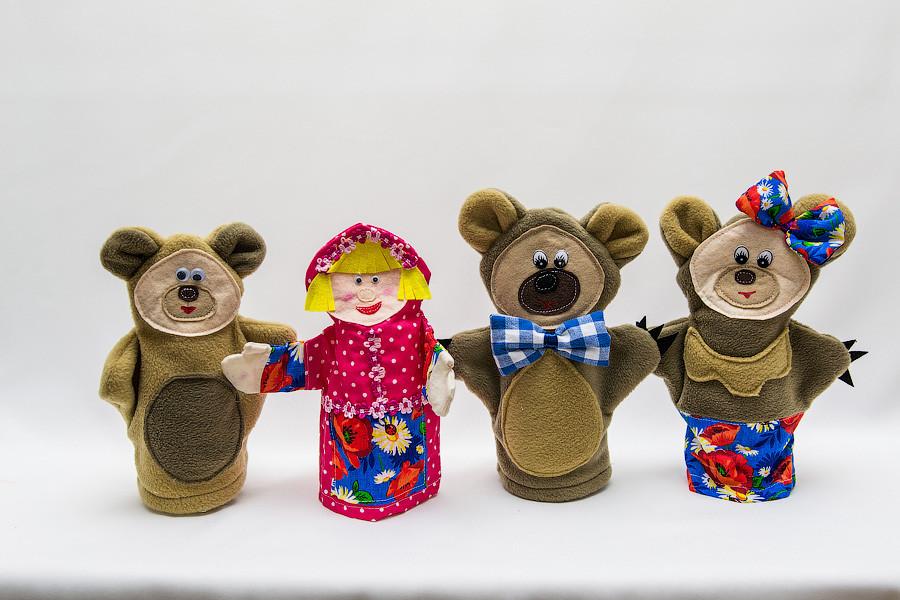 """Сказка """"Маша и Три медведя"""" Vikamade"""