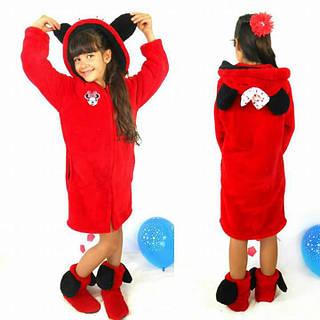 Детский махровый-велсофт халат на 6,8,10 лет