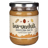 """Арахисовая паста """"С кусочками орехов"""" burunduk"""