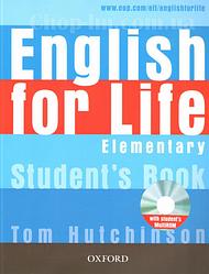 English for Life Elementary Student's Book with MultiROM / Учебник с диском