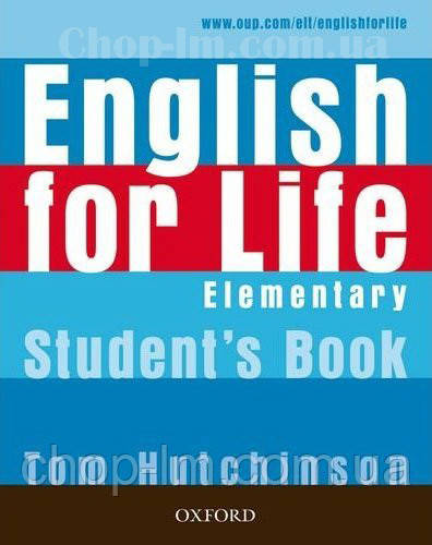 English for Life Elementary student's Book / Підручник