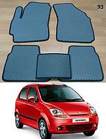Коврики на Chevrolet Spark '05-08. Автоковрики EVA, фото 1