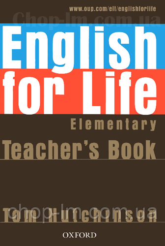 English for Life Elementary Teacher's Book with Test CD / Книга для учителя