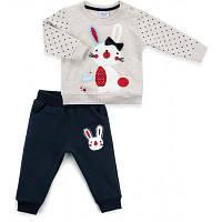 Набор детской одежды Breeze с зайчиком (10188-74G-beige)