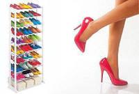 Полка для обуви Amazing Shoe Rack  на 30 пар