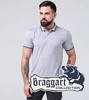 Braggart | Мужская тенниска 6637-A серый, фото 1