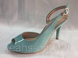 Туфли лаковые женские  619-9