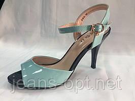 Туфли лаковые женские  619-8