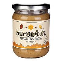 """Арахисовая паста """"С медом"""" burunduk"""