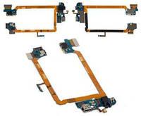 Шлейф для LG D800 Optimus G2, D801, D803, с разъемом зарядки, с разъемом наушников, с микрофоном