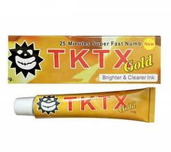 Обезболивающий крем-анестетик TKTX 38%, Gold tube, 10m