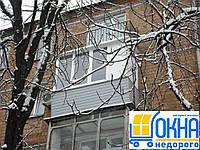 Прочная наружная обшивка балконов сайдингом
