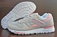 Женские кроссовки Reebok Classic GL6000 L.Grey/Pink