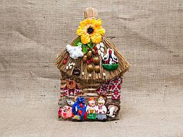 Оберег плетённый домик. Оберег Vikamade