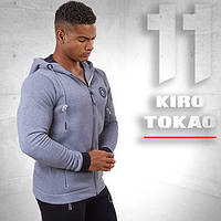 Kiro Tokao 156 | Мужская спортивная толстовка меланж-белый