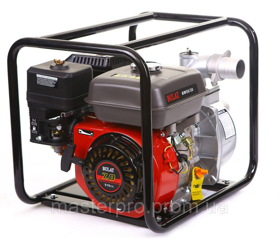 Мотопомпа бензиновая Bulat BW50/30