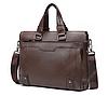Сумка-портфель Dewes коричневая С1301