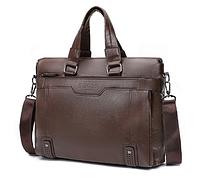 Сумка-портфель Dewes коричневая С1301, фото 1