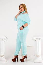 Женский костюм 03743 (р. 48 - 54) купить в розницу по оптовой цене