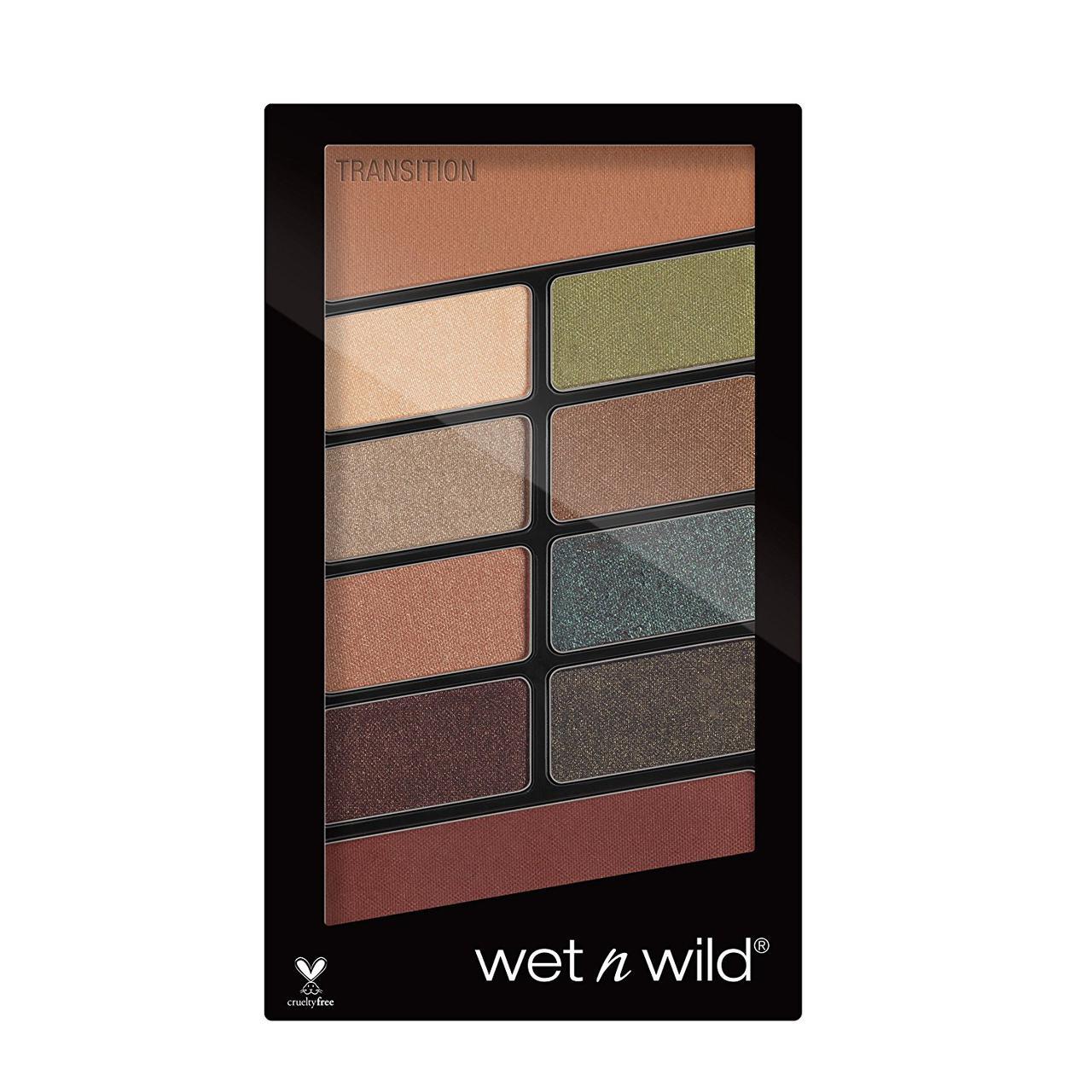 Палетка теней 10 оттенков Wet n Wild Comfort Zone Color Icon Eyeshadow 759