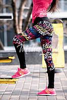 Женские  леггинсы  для фитнеса арт 4817-34