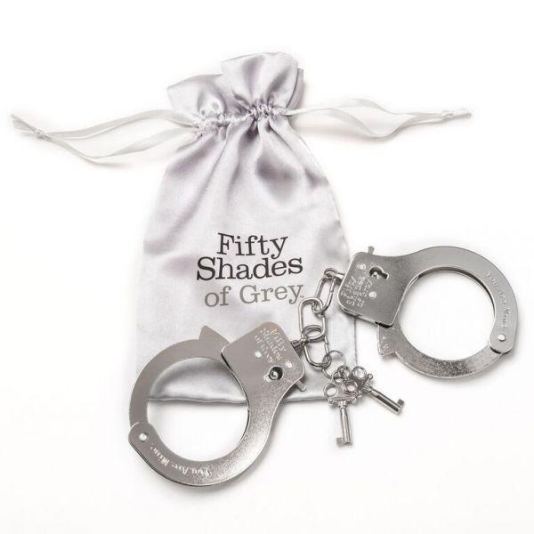 Металлические наручники ''Ты. Моя.''