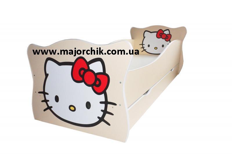 Детская кровать Hello Kitty Хелло Китти