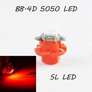 LED лампа в подсветку приборной панели, цоколь B8.4D SL LED, фото 2