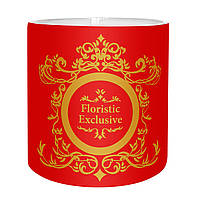 "Коробка для цветов ""Exclusive"" (14х14 см) красная"