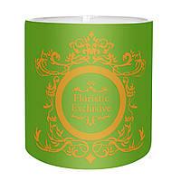"""Коробка для цветов """"Exclusive"""" (14х14 см) фисташковая"""