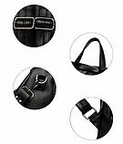 Рюкзак-сумка жіночий чорний Sujimima, фото 7