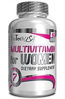 Витамины для женщин Bio Tech Multivitamin for Women, 60 таблеток